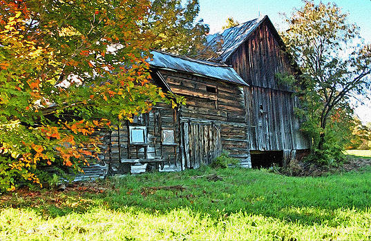James Steele - Old Barn In Vermont