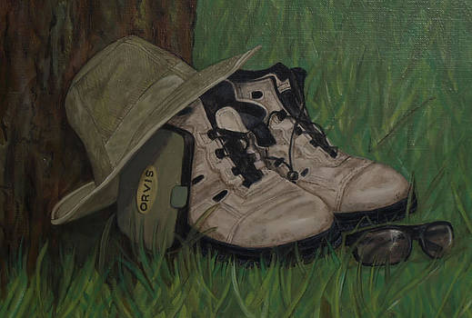 Old Boots by Kathy Lovelace