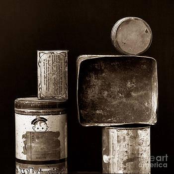 BERNARD JAUBERT - Old fashioned iron boxes.