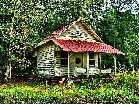 Old Florida VI by Julie Dant