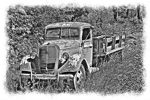 William Havle - Old Ford Flatbed BW