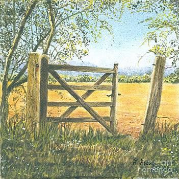 Old Gate by Frances Evans