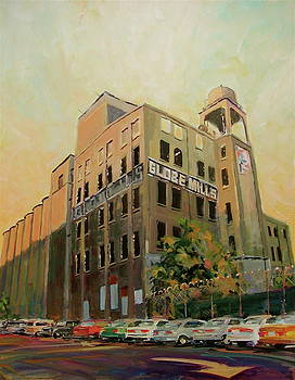 Old Globe Mills by David Lobenberg