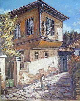 Old Greek house by Charalampos Laskaris