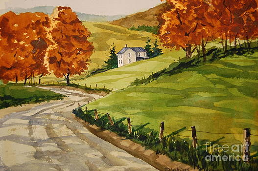 Old homestead by Bill Dinkins