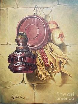 Old lamp by Dusan Vukovic