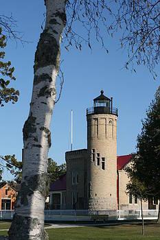 Old Mackinac Point Lighthouse by Brady D Hebert