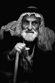 Old man by Adeeb Atwan