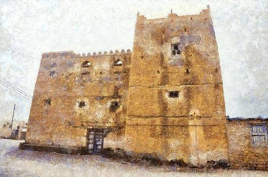 Old Mansion in Mirbat by Balram Panikkaserry
