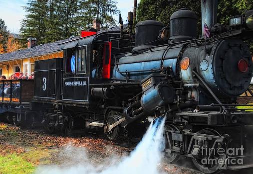 Kathleen K Parker - Old Number Three_Climax Locomotive_Durbin Rocket WV