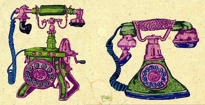 Old Phones by Ben Leary