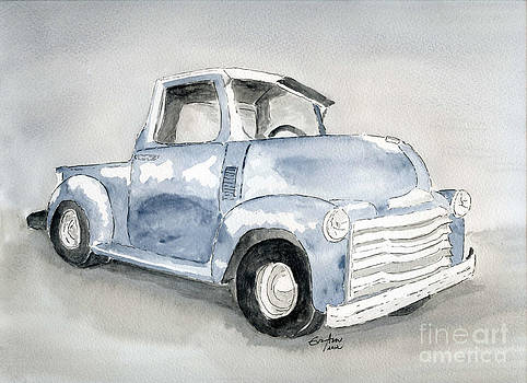 Old Pick Up Truck by Eva Ason