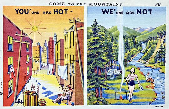 Old Postcard by Susan Leggett