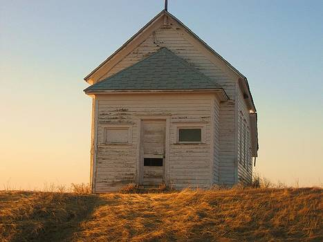 Old School House by Trish Pitts
