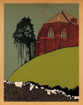 Old Scottish Church by Patrick Butler