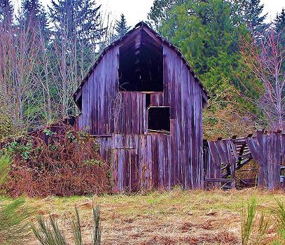 Old Washington Barn by Marilyn Lyon