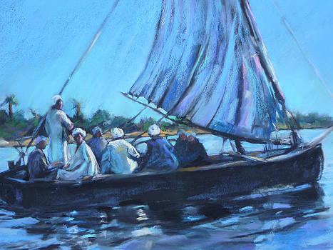 On the Nile by Joan  Jones