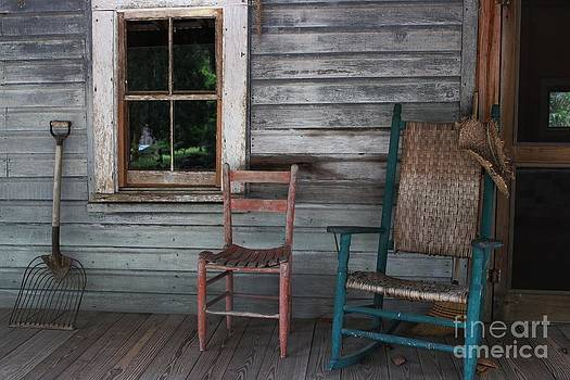 On the Porch by Theresa Willingham