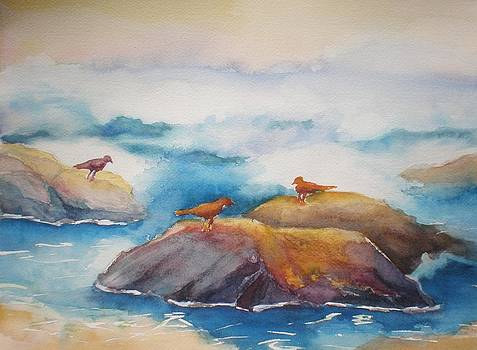 On the Rocks III by Lori Chase