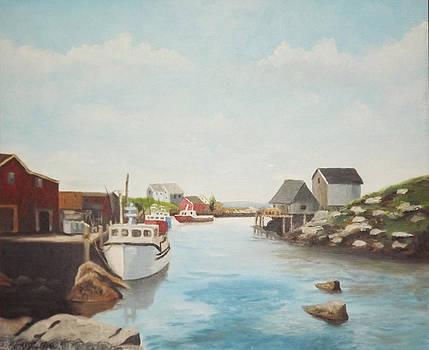 On the Water in Nova Scotia by Al Fonollosa