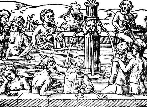 Science Source - Open-air Bath Balneology 1571