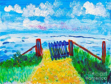 Simon Bratt Photography LRPS - Open gate to the sea