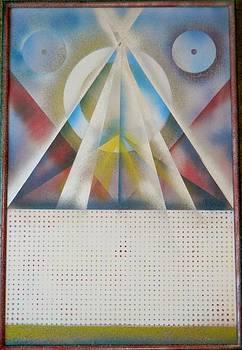 Optic Pyramid by James Howard