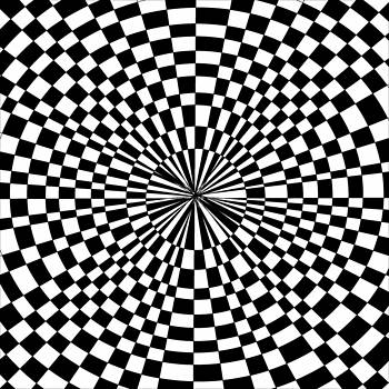 Optical Illusion Casino Background by Casino Artist