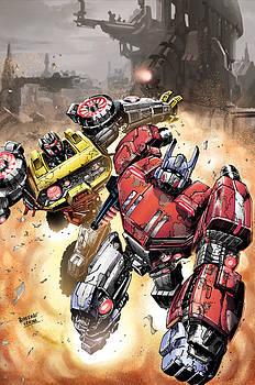 Optimus Prime by Dheeraj Verma