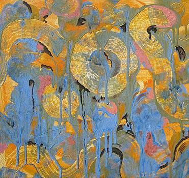 Orange Movement by Susan  McNeil