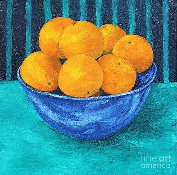 Oranges by Barbara Nolan