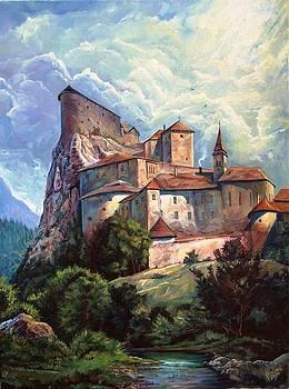Orava Castle  Slovakia  by Peter Zuffa