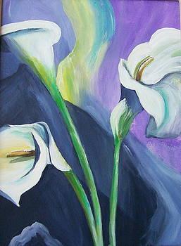 Orchids by Barbara Ruzzene