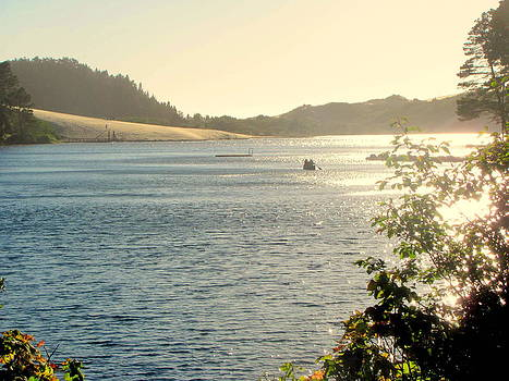 Oregon Coast Florence Dunes by Amy Bradley
