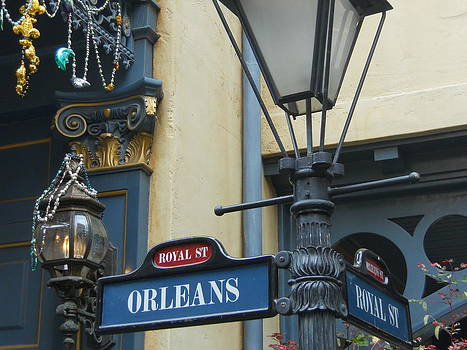 Orleans Lamp by James McGuine