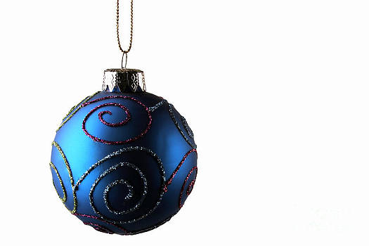 Ornament over white by Alan Crosthwaite