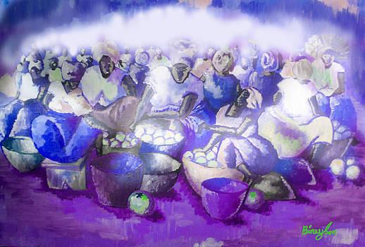Oroange Sellers by Isaac Bineyson