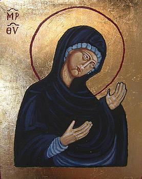 Our Lady Deesis by Karolina Wicha