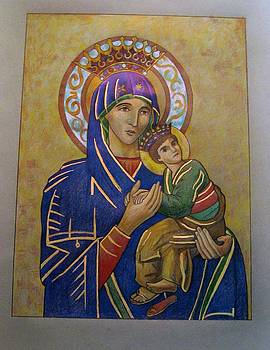 Our Lady Of Perpetual Help by Patrick RANKIN