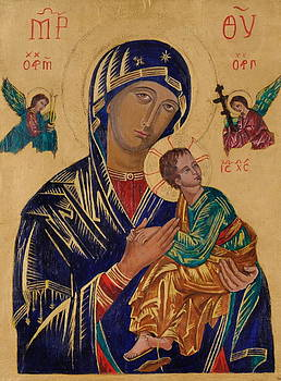 Our Mother of Perpetual Help by Camelia Apostol
