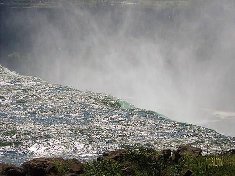 Over the brink of Niagara Falls  by J R Baldini  M Photog