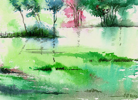 Overflow 1 by Anil Nene