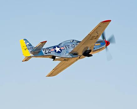 P51 Liftoff by Tom Dowd