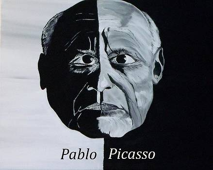 Pablo Picasso by Mark Moore