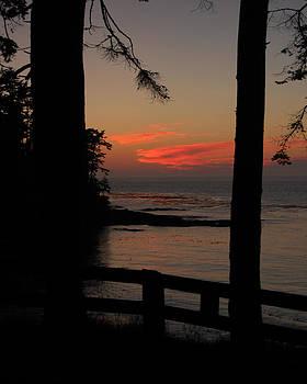 Pacific sunset.. Wa. by Randall Templeton
