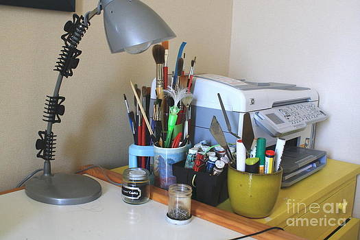 Painting gear by Printer by Phong Trinh