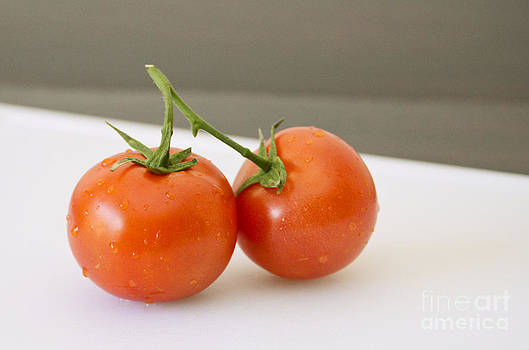 Pair of Tomatoes by Anna Crowder