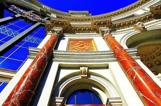 Palace Entrance III by Linda Edgecomb
