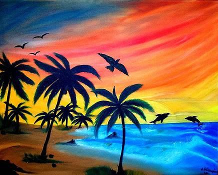 Palm beach by Nicole Champion