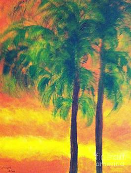 Palm Trees by Bonnie Wright